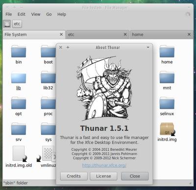 Релиз Thunar 1.5.1