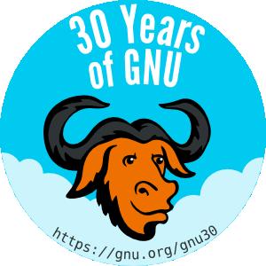 Проекту GNU исполнилось 30 лет