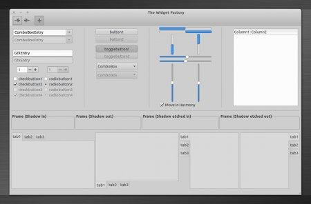 Тема Greybird была переработана под Xubuntu 12.10