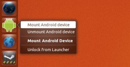 Подключение устройств на Android 4.*  unitiy launcher
