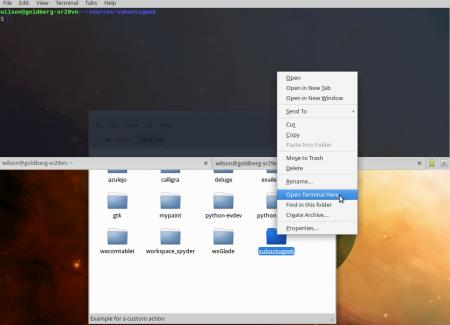 """Как добавить опцию """"Open Terminal Here"""" в Thunar"""