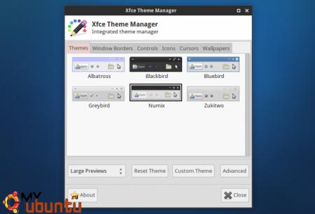 Xfce Theme Manager: единый интерфейс для смены тем в Xfce