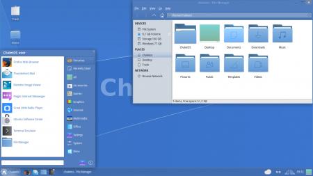 ChaletOS – дистрибутив Linux для новичков